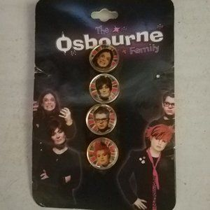 Rare The Osbourne Family Pins